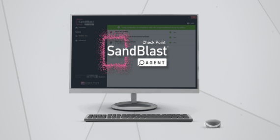 Check Point Sand Blast Agent