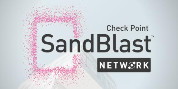 Check Point Sand Blast