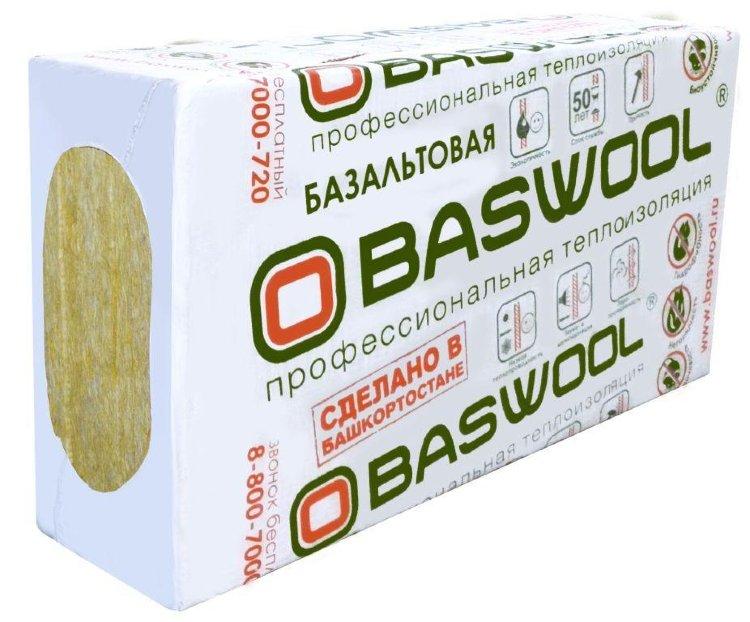 картинка BASWOOL Лайт-45 50*600*1200 (6 плит; 4,32 м2; 0,216 м3) от магазина Двина стройматериалы