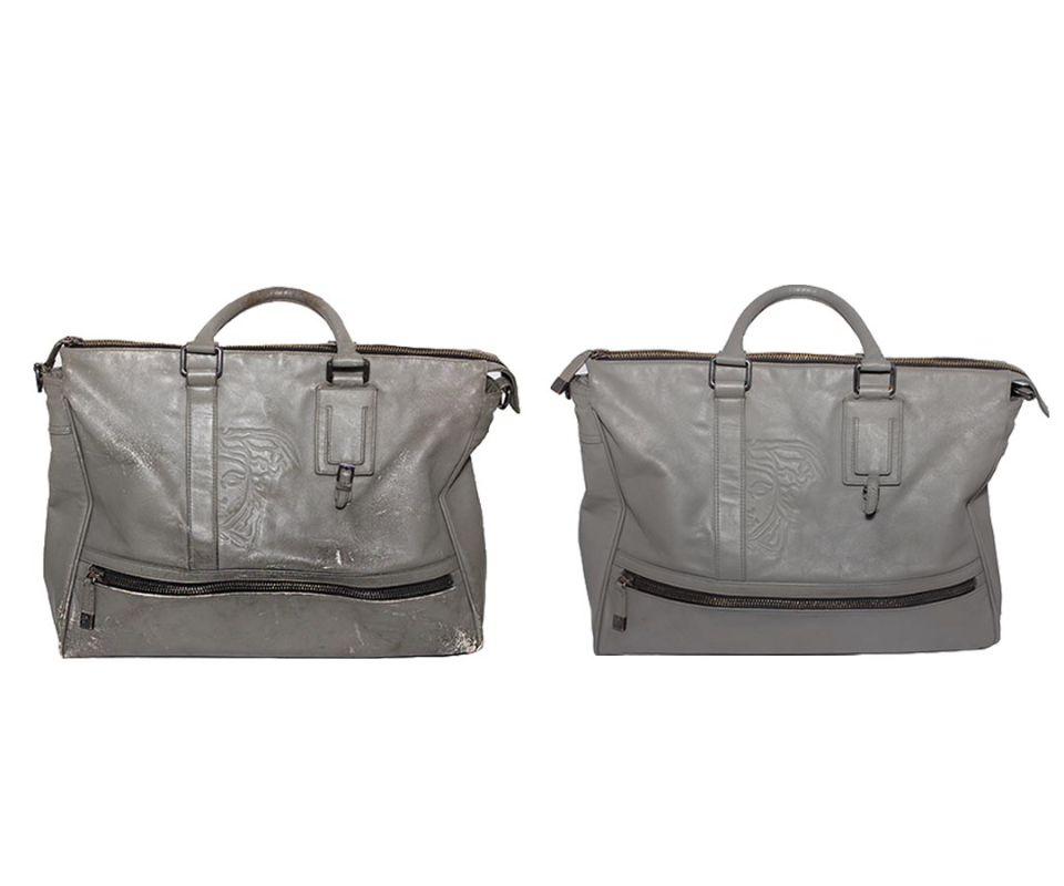 Реставрация женской сумки