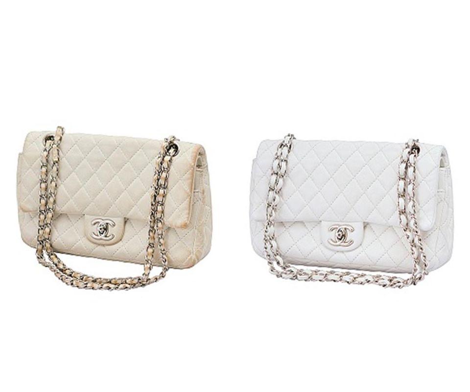 Реставрация сумочки Chanel