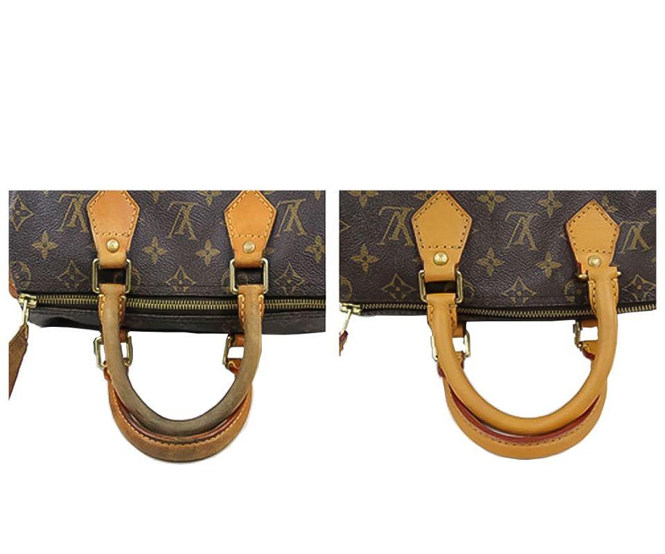 Восстановление ручек сумкиLouis Vuitton