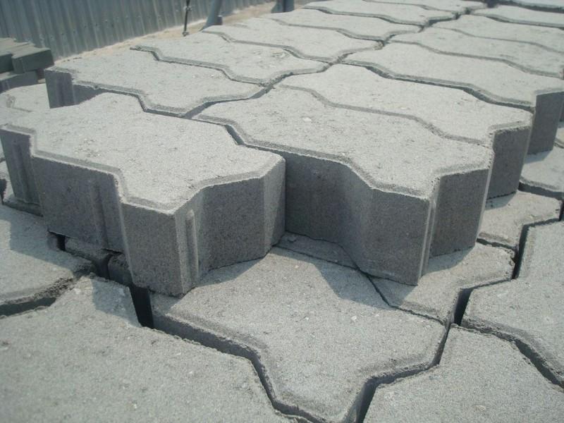 Тротуарная плитка Змейка 236x111x70 мм