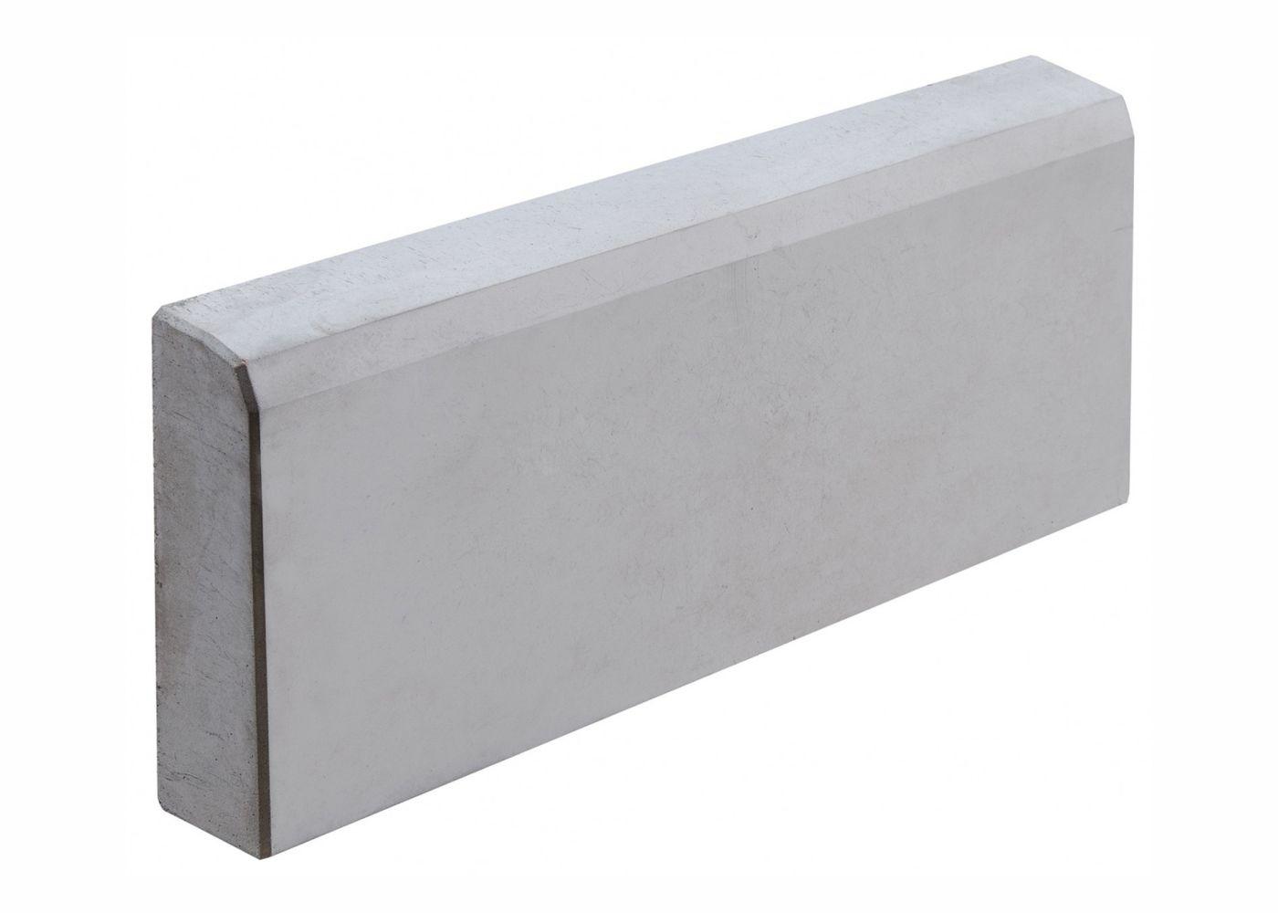 Бордюр садовый серый 500x205x30 мм