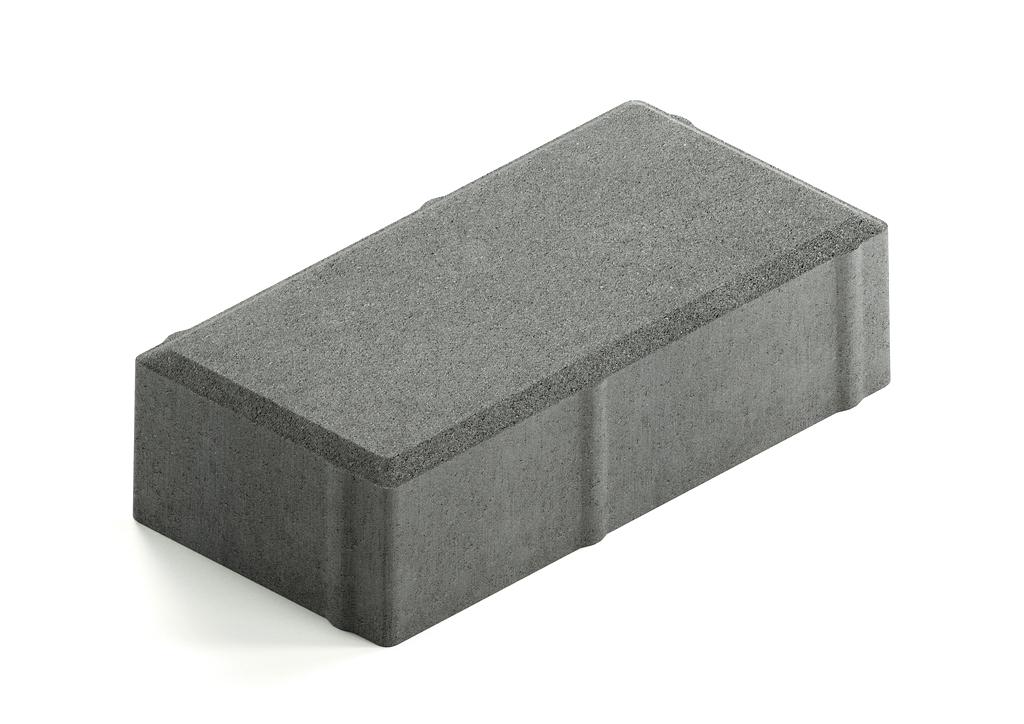 Тротуарная плитка Кирпичик 200x100x50 мм