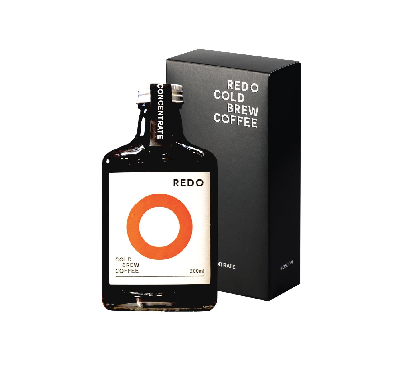 REDO Концентрат Колд брю кофе, П/У, 200 мл