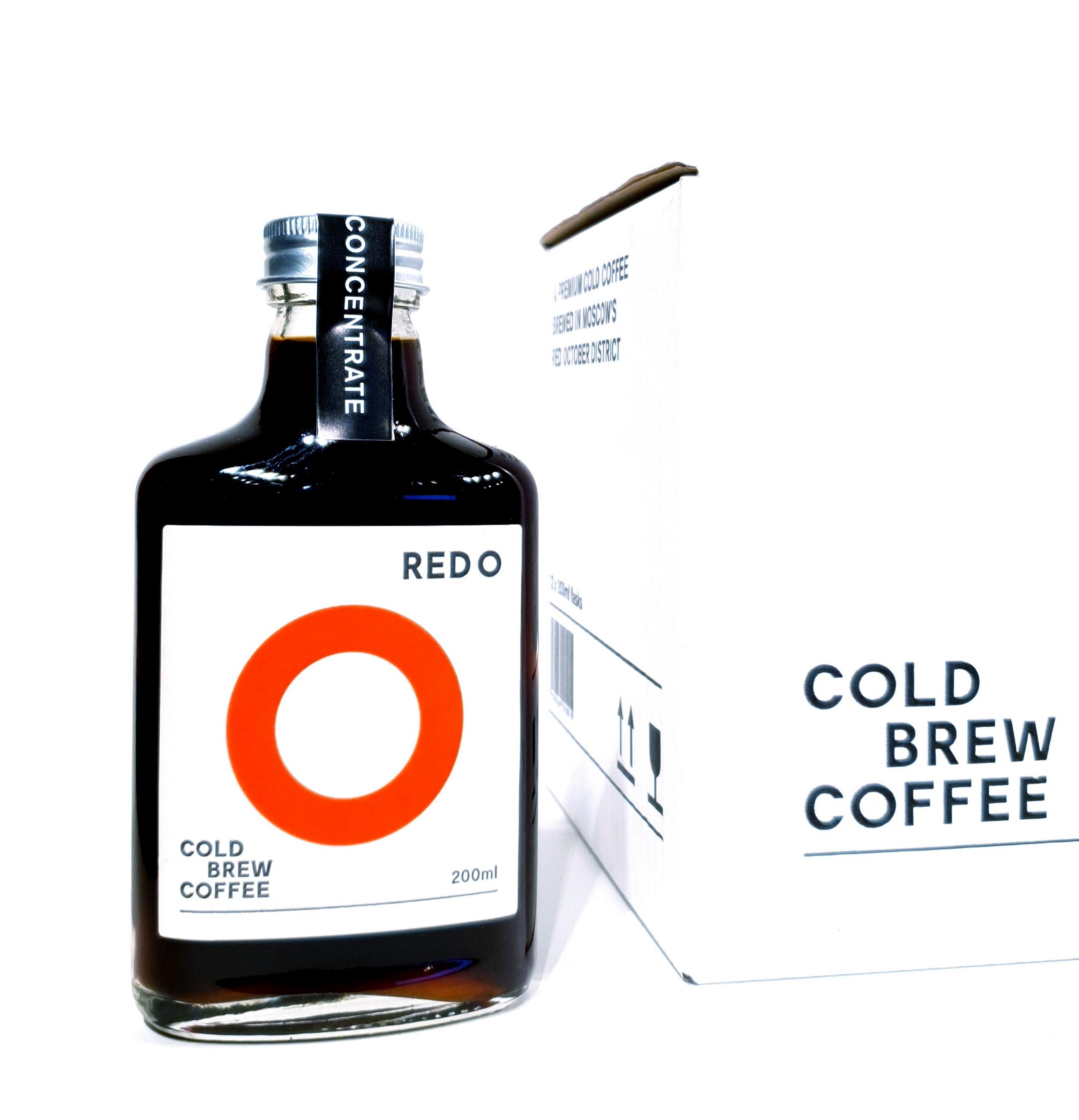 REDO Концентрат Колд брю кофе, 200 мл*12