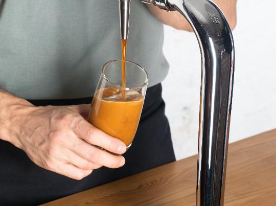 Нитро-кофе: колд брю с азотом.