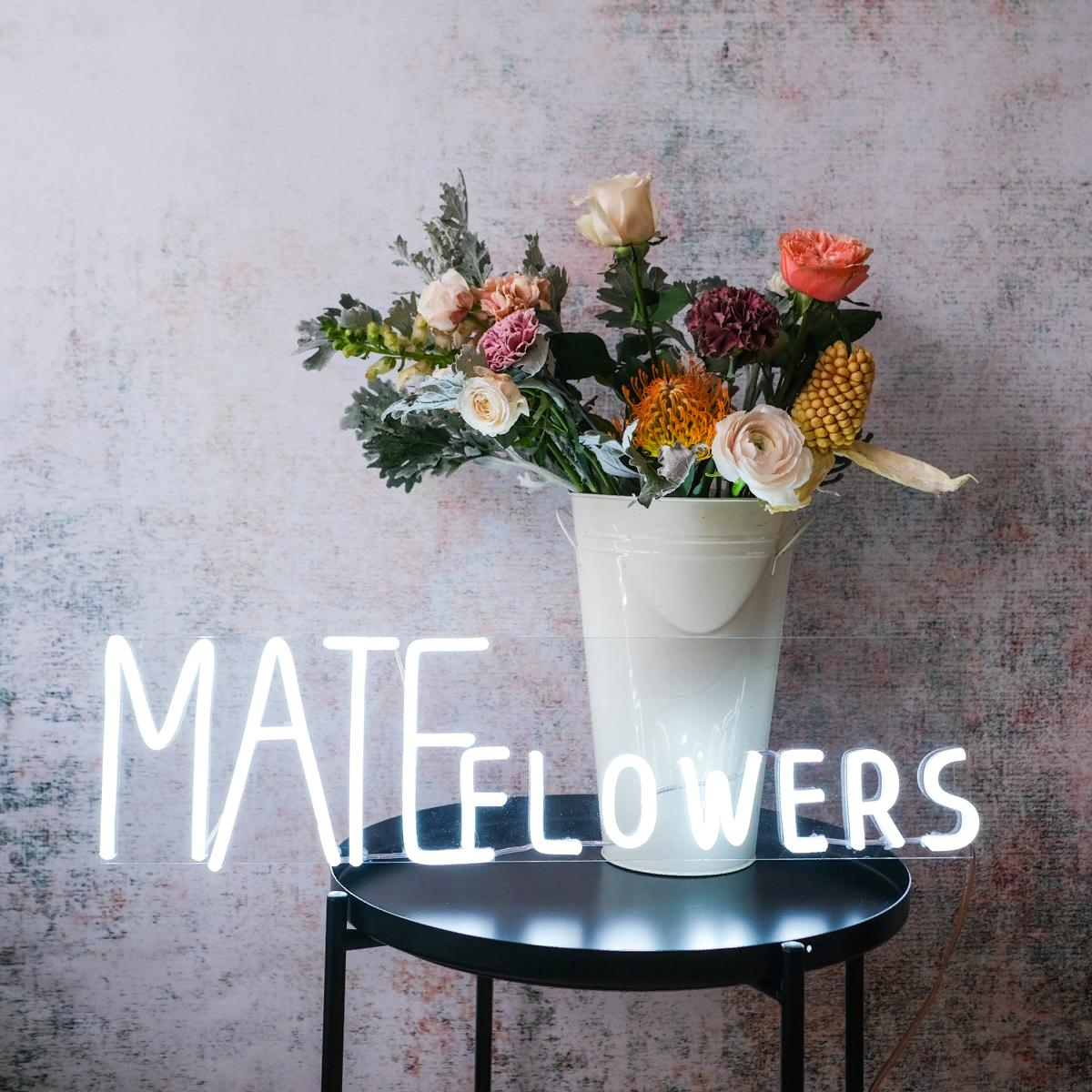 Сертификат на мастер-класс Mate flowers  от MATE Flowers