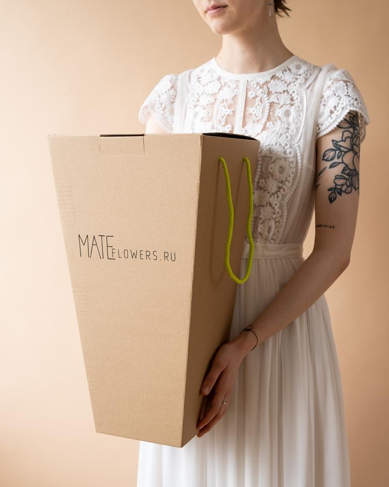 картинка Букет невесты с ранункулюсами от магазина Одежда+