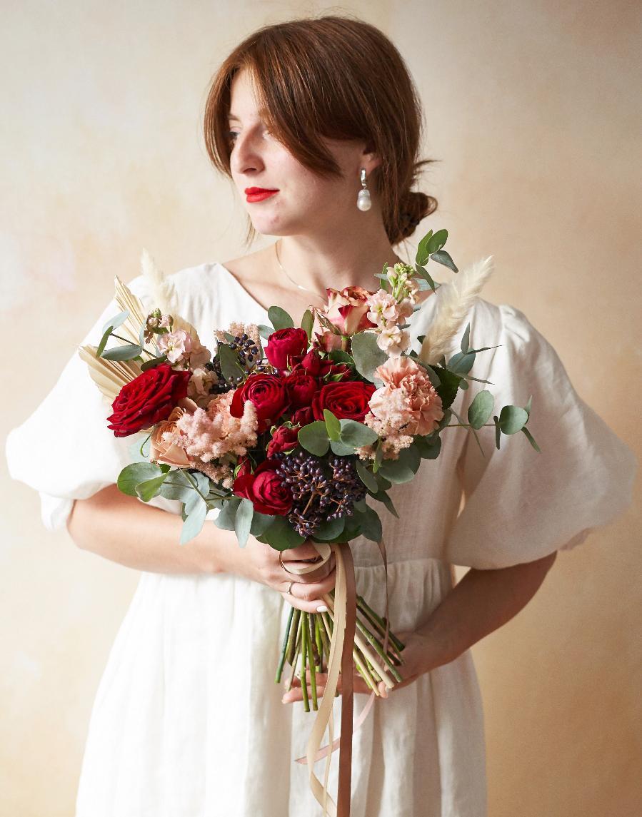 картинка Свадебный букет по индивидуальному заказу от магазина Одежда+