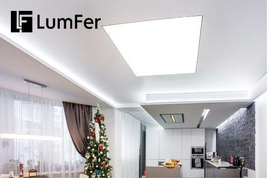 Светящийся натяжной потолок Lumfer