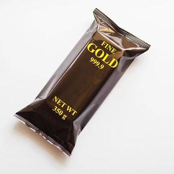 шоколадный слиток со вкусом карамели