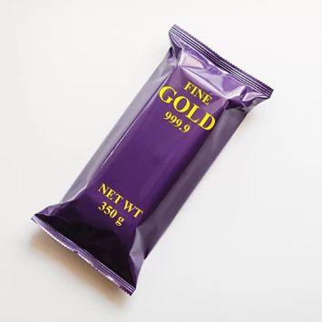 шоколадный слиток с цельным фундуком