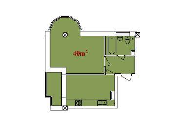 Apartament 40 m2