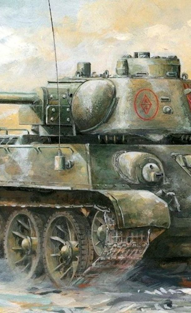 Легендарный танк победы Т-34