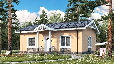 постройка одноэтажного дома