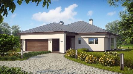 проекты одноэтажных дачных домов
