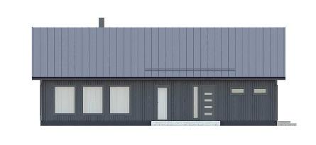 финский каркасный одноэтажный дом