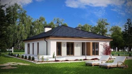 проект одноэтажного дома под ключ