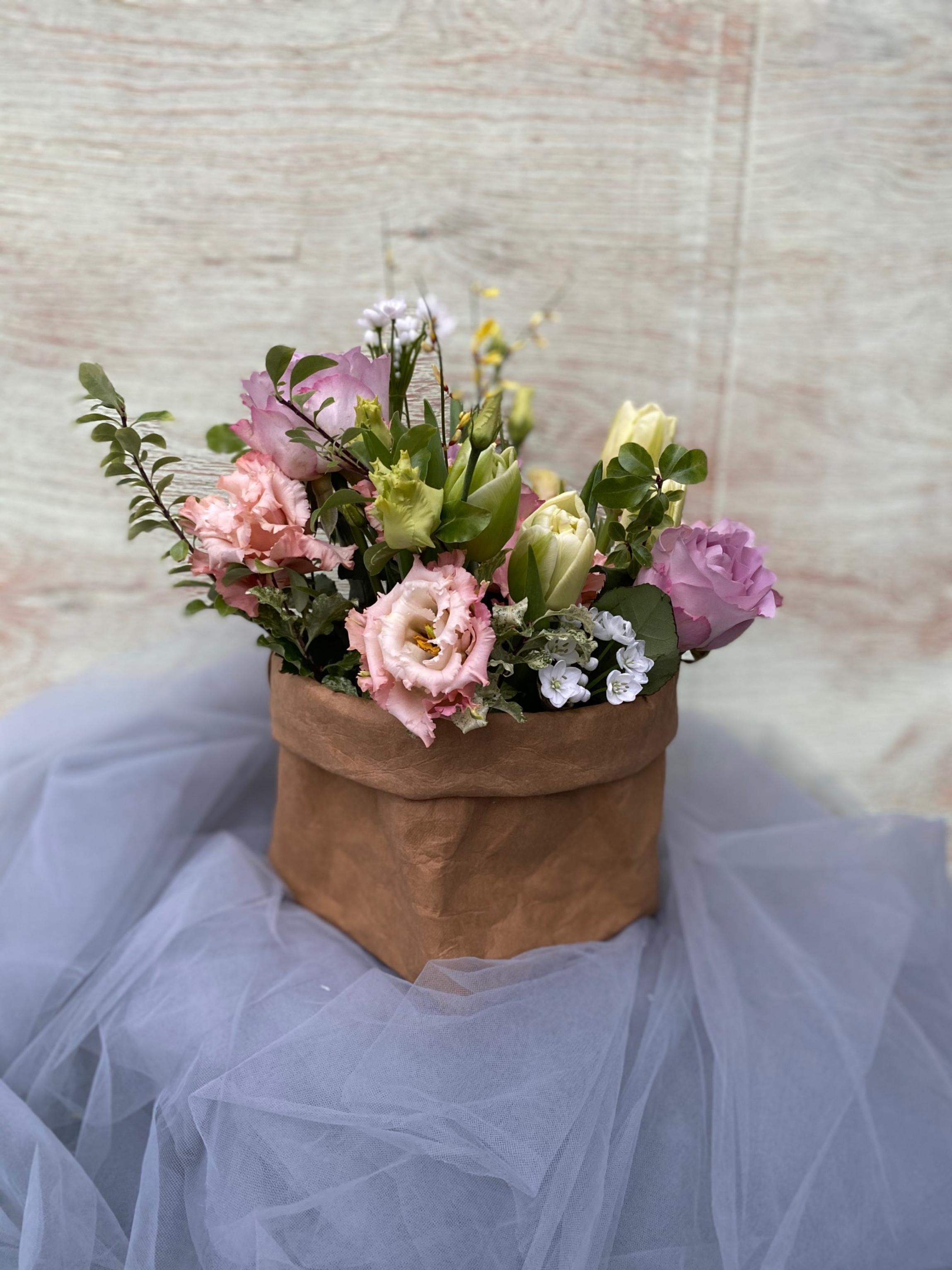 Крафт и цветы