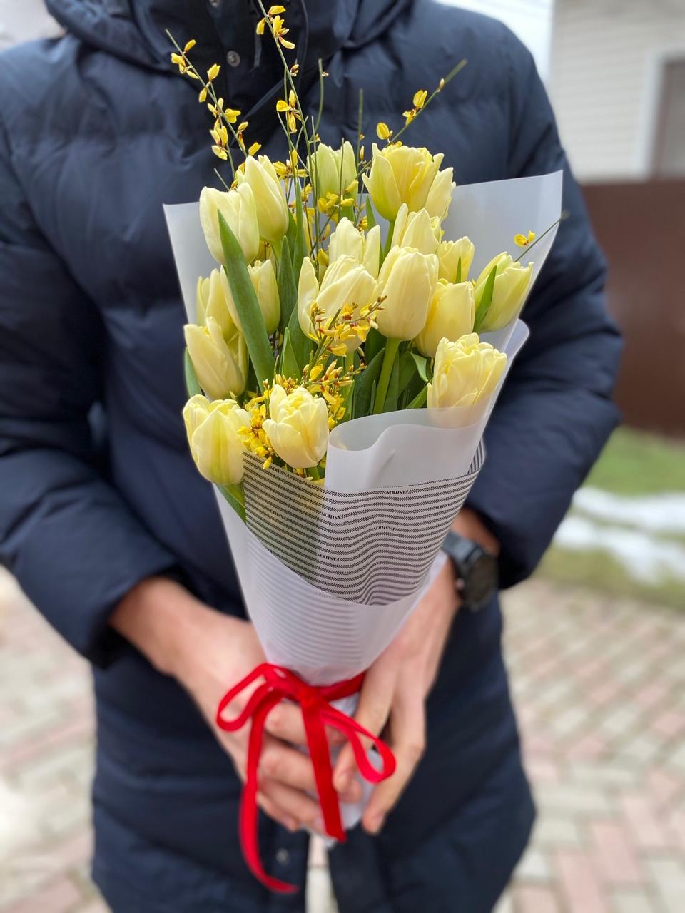 Хрустящие тюльпаны