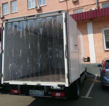 морозостойкие пвх завесы для грузового автомобиля