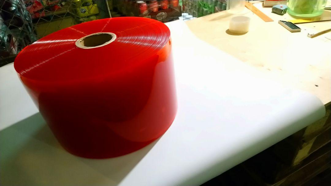 красная пвх пленка для завесы