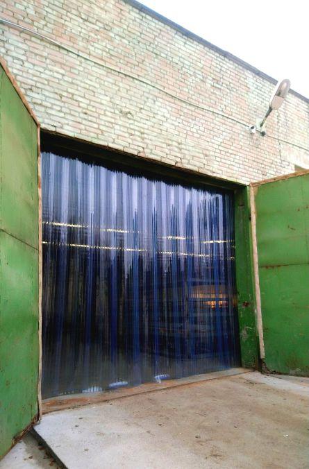 пластиковые полосовые пвх завесы