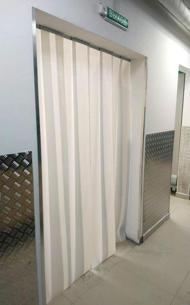 непрозрачные ленточные пвх шторы