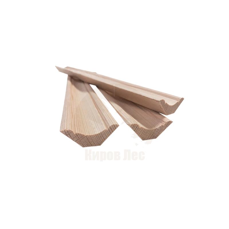картинка Плинтус деревянный 45x3000 мм от магазина Киров Лес | Челябинск