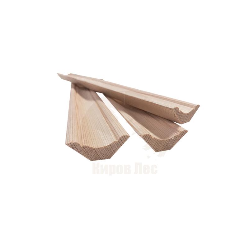 картинка Плинтус деревянный 35x3000 мм от магазина Киров Лес | Челябинск