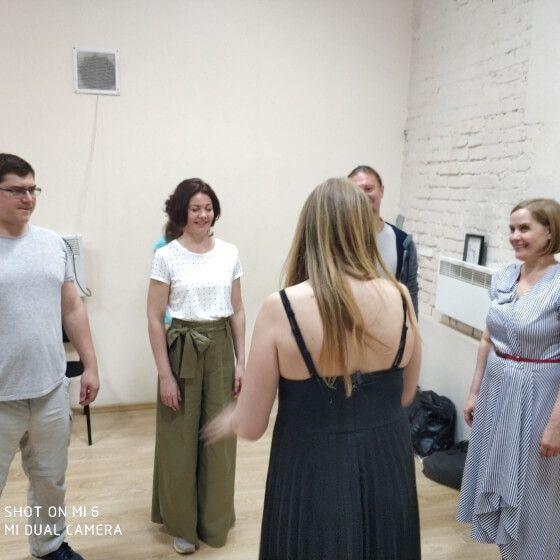 Центр Юрия Стрельникова и Светланы Волгва - фото с тренинга