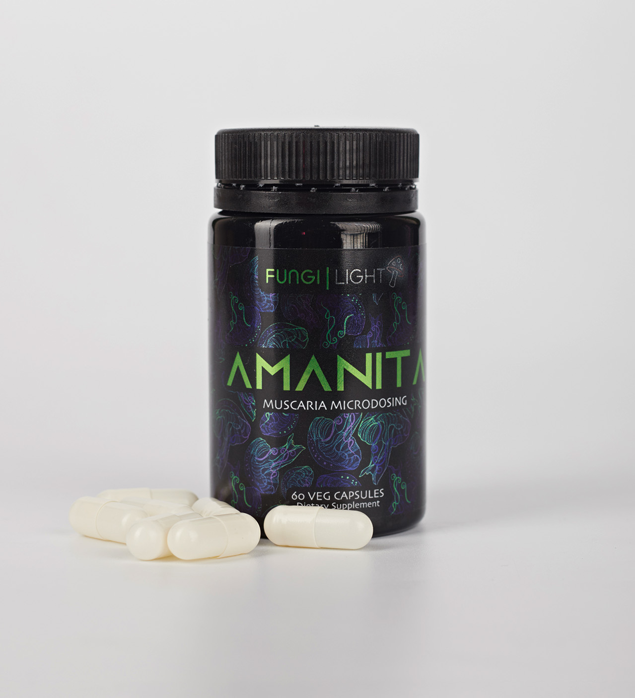 AMANITA - мухоморный микродозинг