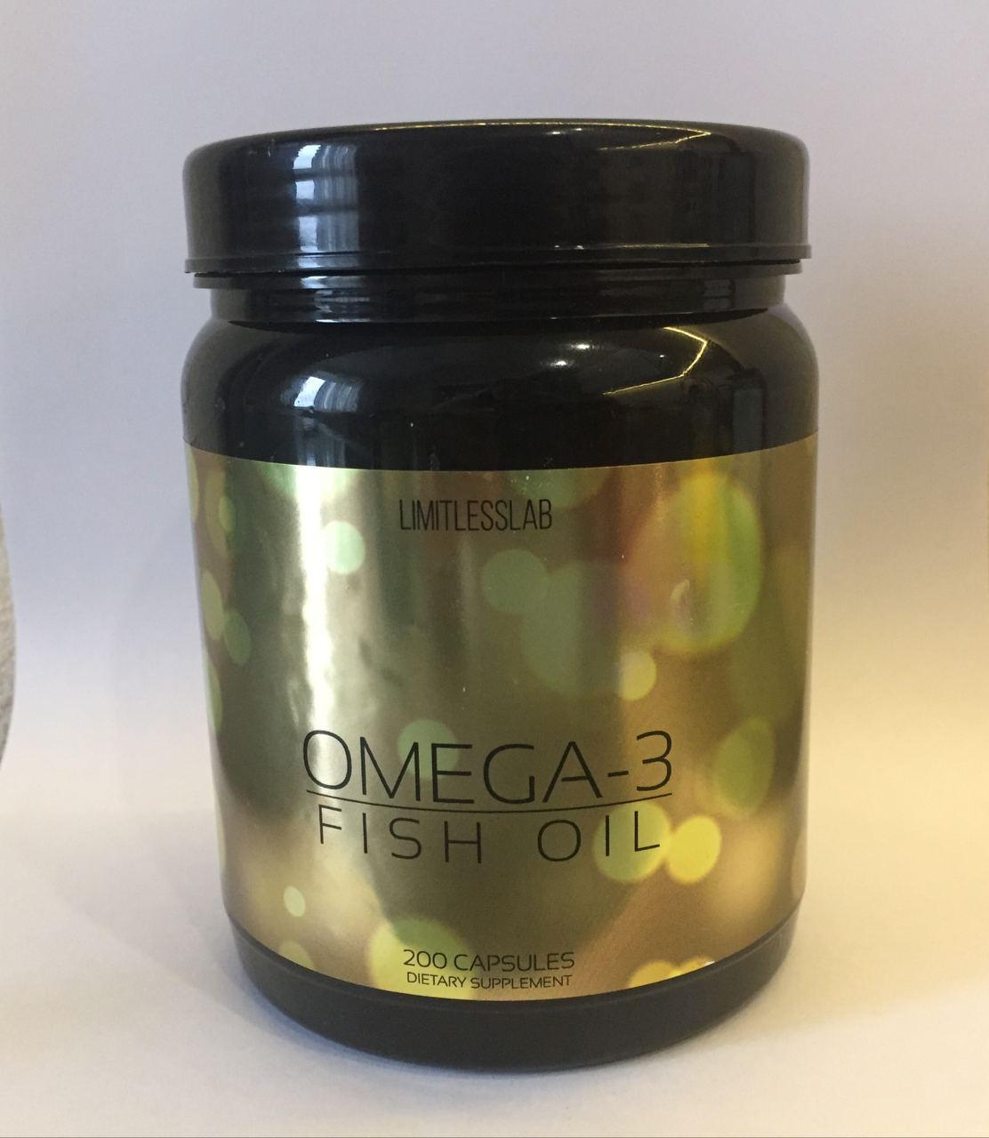 LimitlessLab Omega-3 200 капс.
