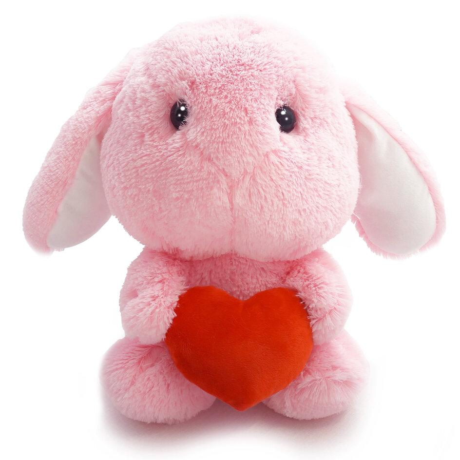Зайчик Банни розовый