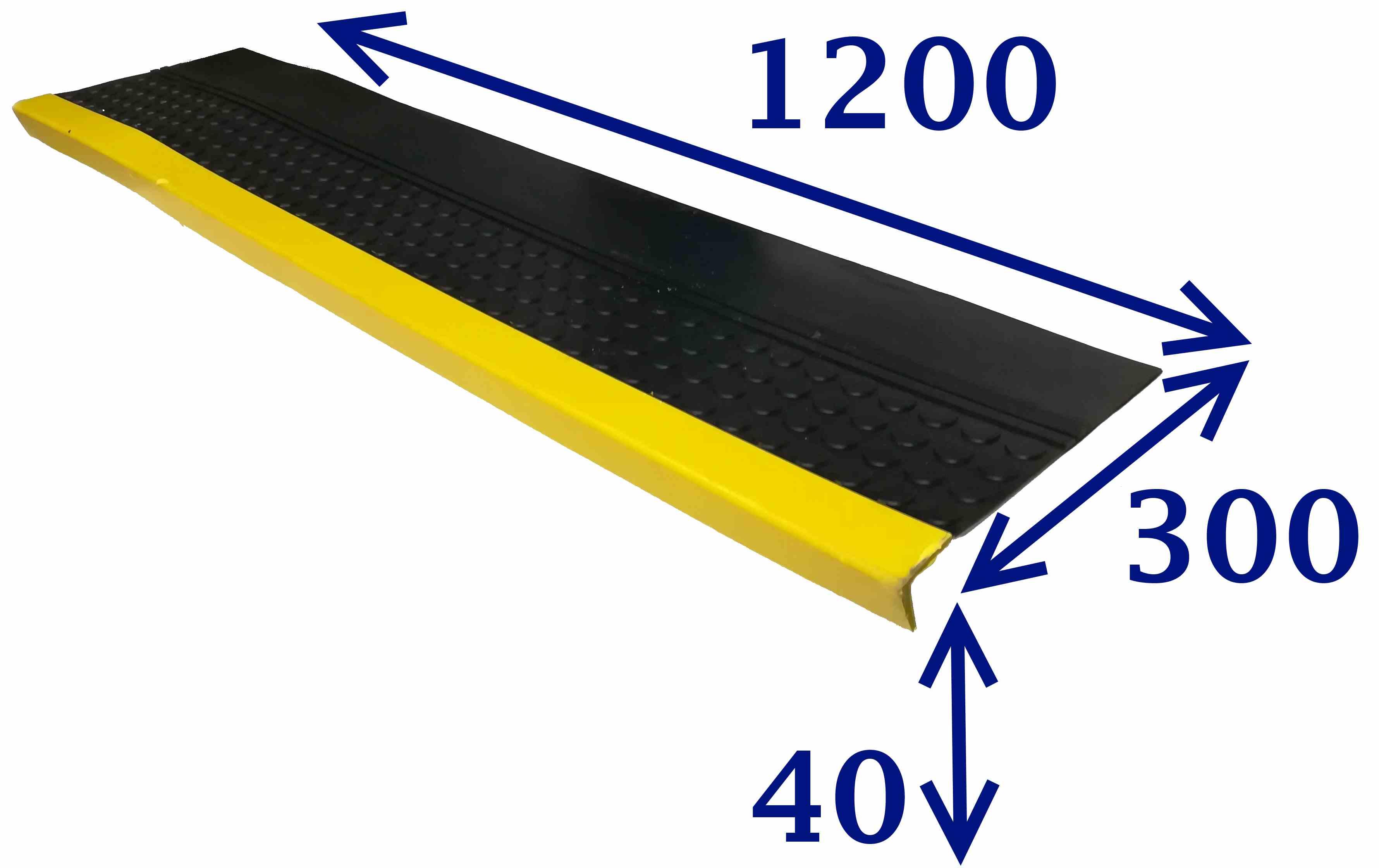 Проступь 1200х300х30 светофор мелкий рубчик