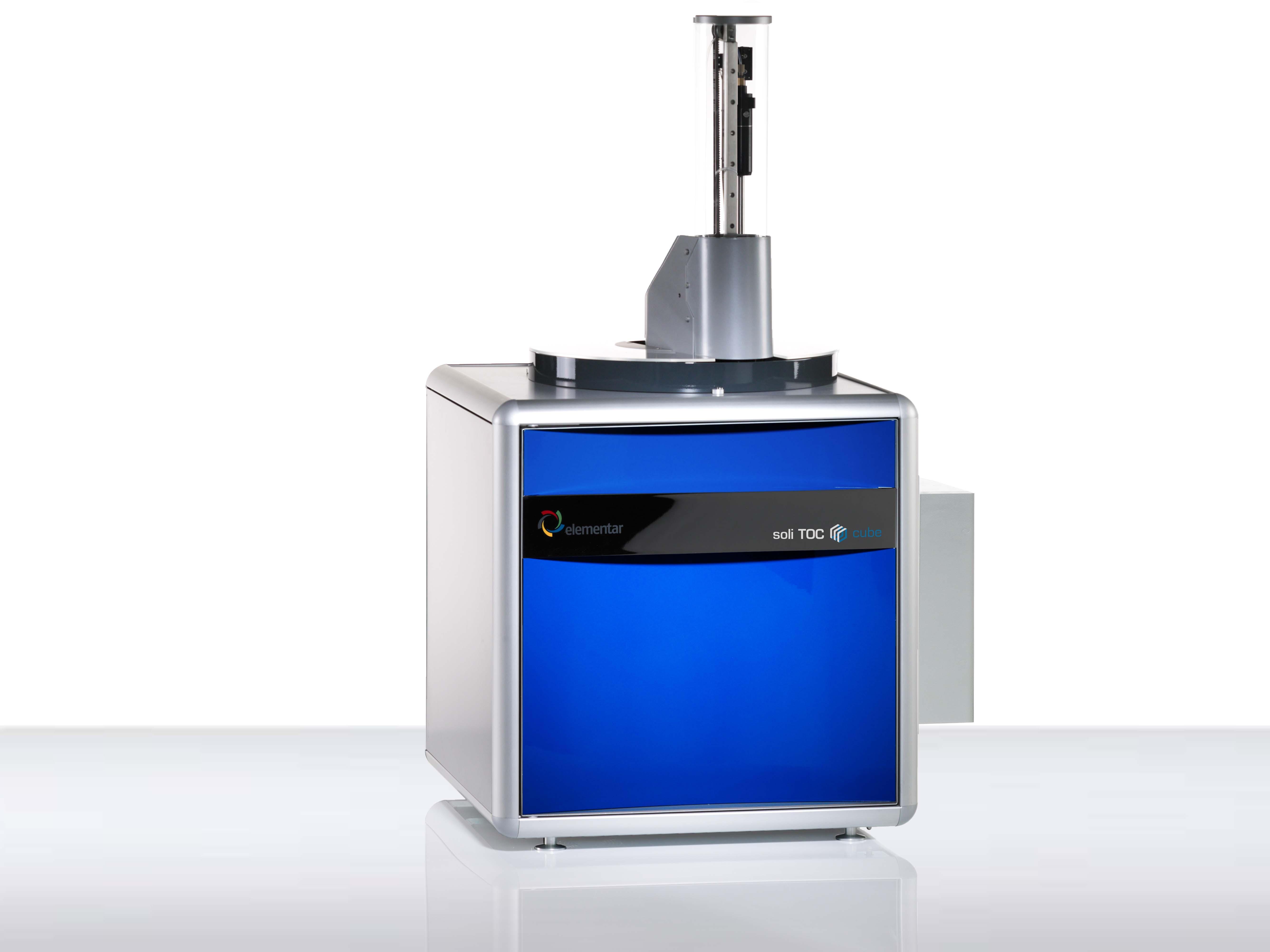 Анализатор общего органического углерода и азота vario TOC cube