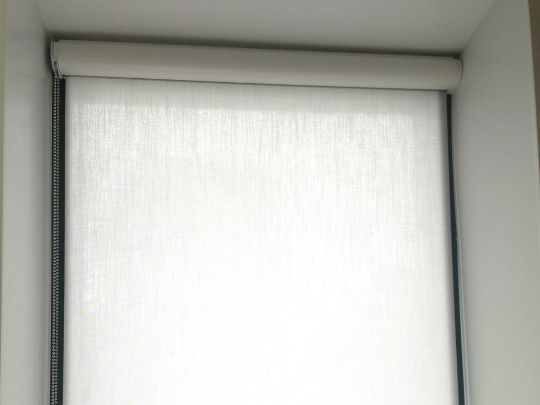 рулонная штора люкс