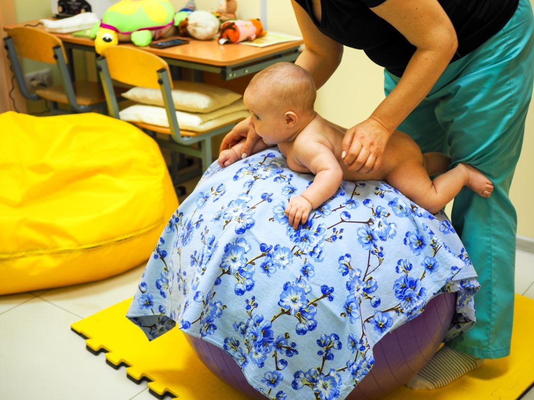 Массаж для новорожденных в Брянске