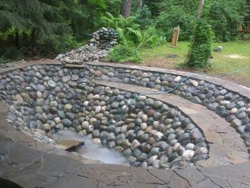 Декорация водоема