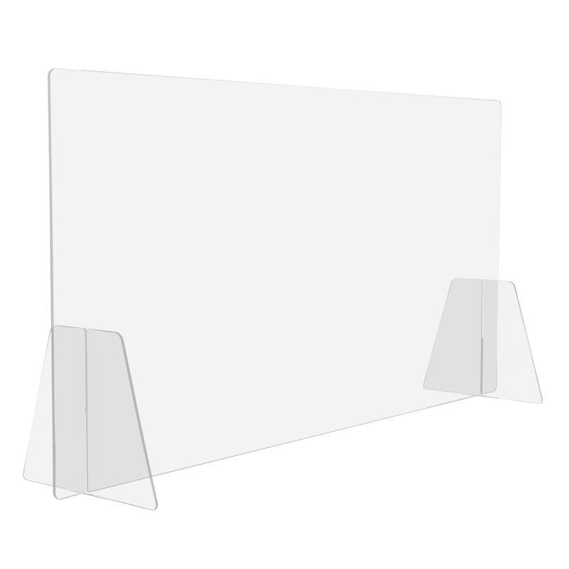 Защитный экран BSL (две опоры, 600x750x4 мм)