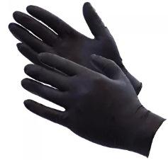 Цена за 100шт Перчатки нитриловые черные и голубые