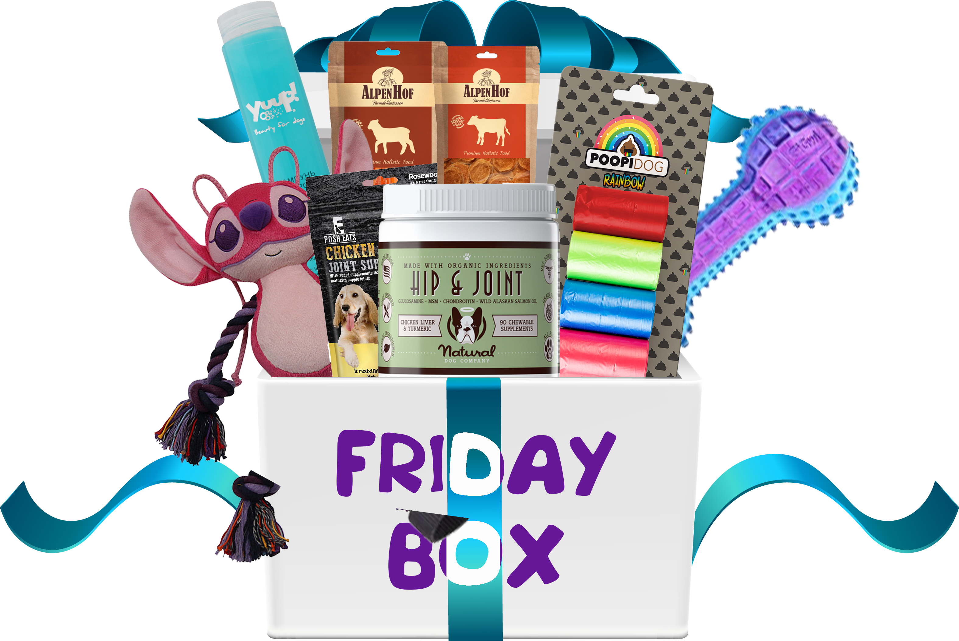 """FRIDAY BOX """"GAME AND JOINTS"""""""