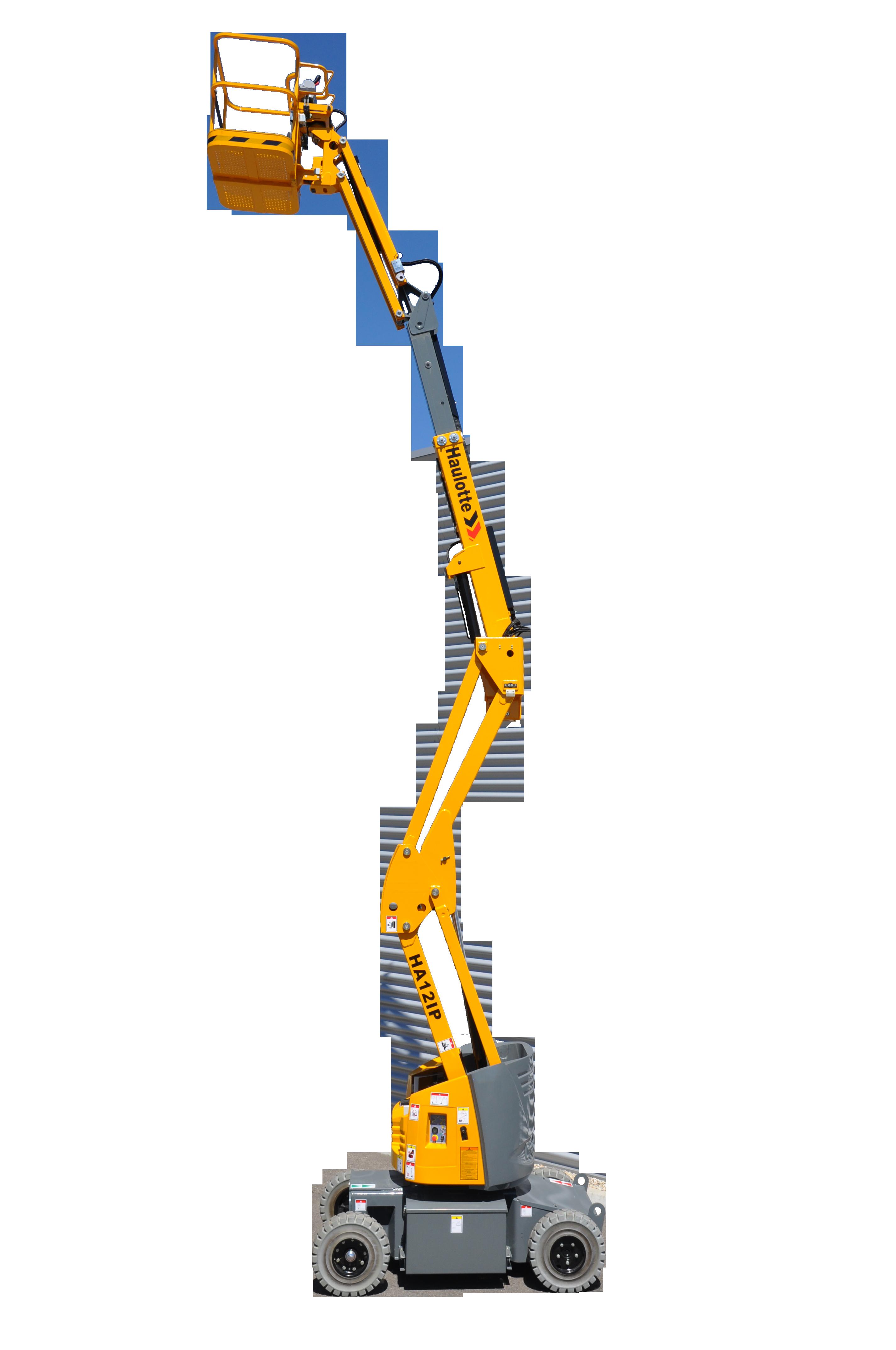 Коленчатый аккумуляторный подъемник HA12IP