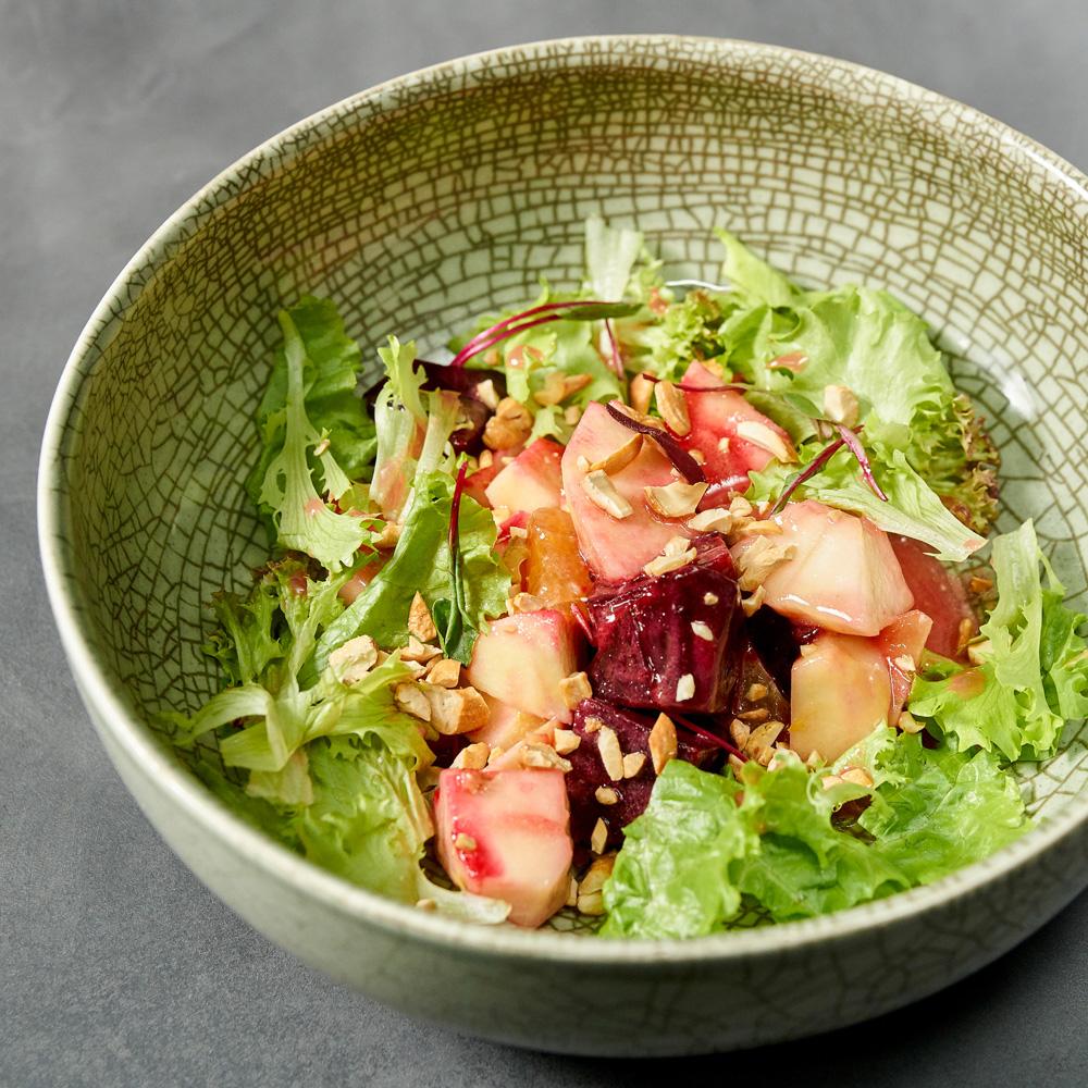 Салат из печёной свёклы