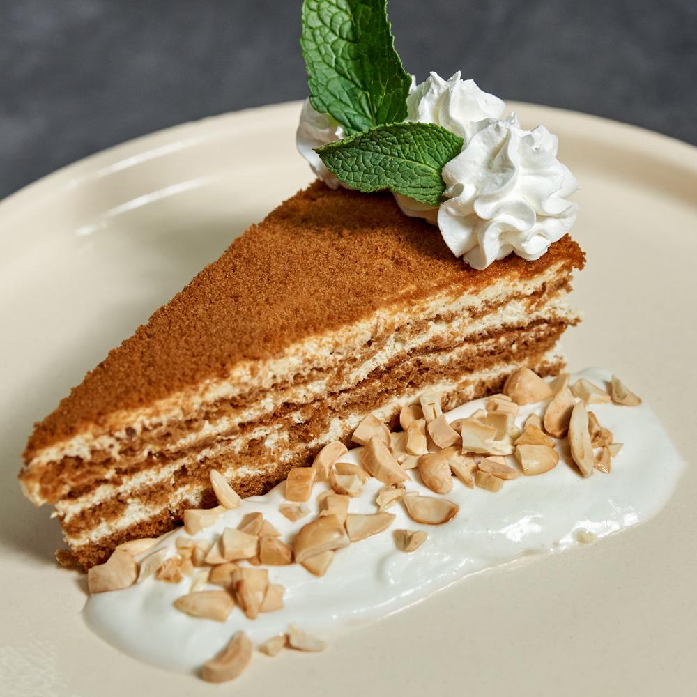 Медово-сметанный торт