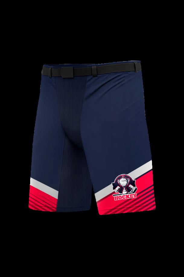 Хоккейные шорты на заказ для команды. Отнотонные или со вставками под дизайн формы