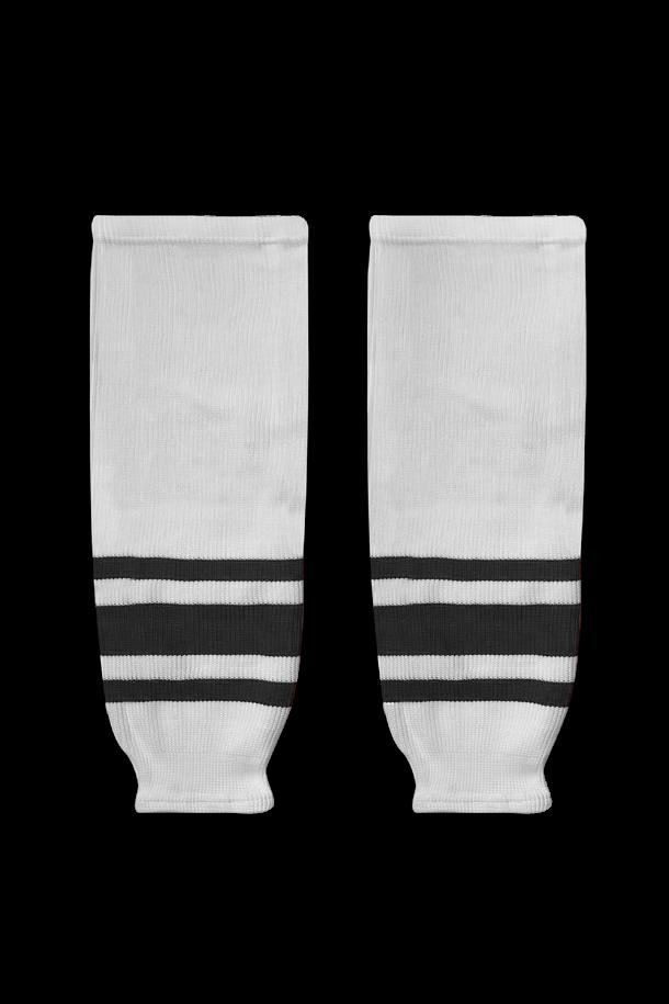 Хоккейные гамаши для команды - вязаные или сублимационные, в дизайне формы