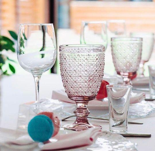 Посуда для сервировки из стекла